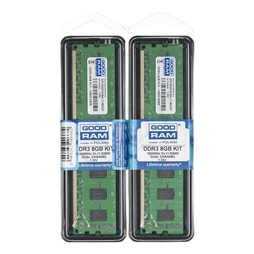 GoodRam DDR3 8GB/1600(2*4GB) CL11 Low Voltage