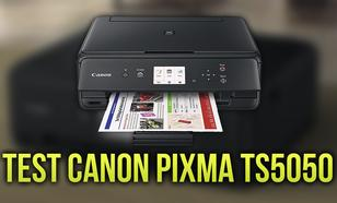 Test Urządzenia Wielofunkcyjnego Canon PIXMA TS5050