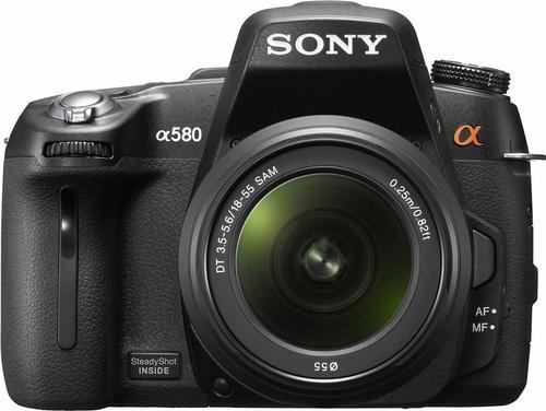 SONY ALPHA DSLR-A580 (+ DT18–55)