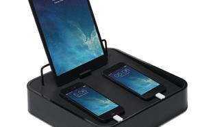 Bluelounge Sanctuary4 stacja dokująca z ładowarką USB do 4 urządzeń czarna