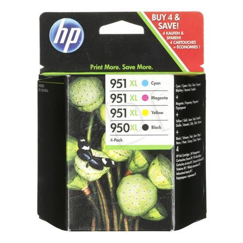 HP Tusz HP950XL+HP951XL=C2P43AE, Zestaw CMYBk, CN045AE+CN046AE+CN047AE+CN048AE