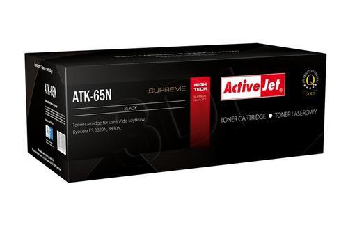 ActiveJet ATK-65N toner Black do drukarki Kyocera (zamiennik Kyocera TK-65) Supreme