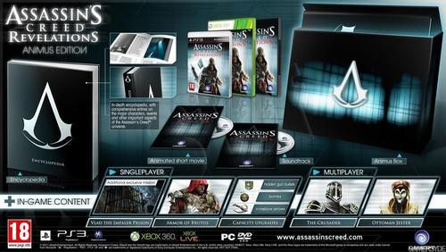 Assasins Creed Revelations Animus Edition