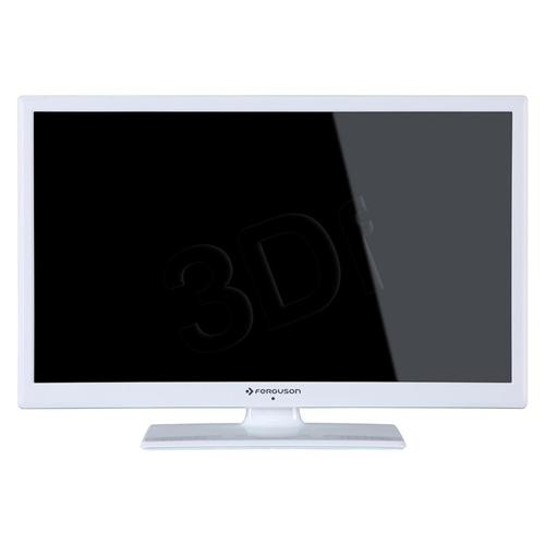 "TV 24"" LCD LED Ferguson V24125LW (Tuner Cyfrowy 50Hz USB )"