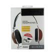 4World Słuchawki stereo brązowe CITY FLAVOUR