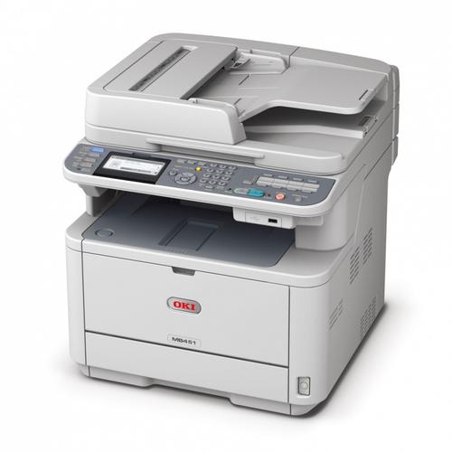 OKI AiO MB451 A4 MONO PL duplex/fax/LAN/ADF/PCL6