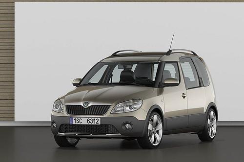 Skoda Roomster Scout Van 1,2TDI CR DPF (75KM) M5 5d