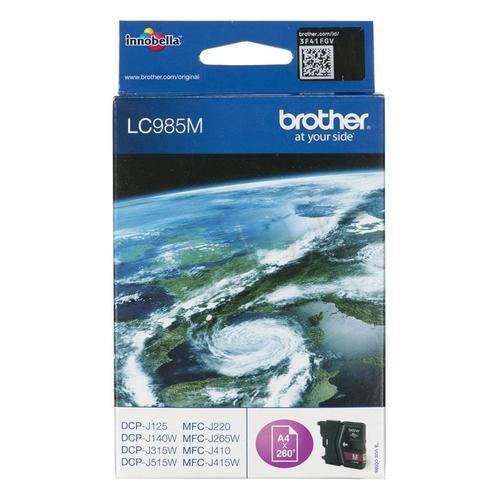 BROTHER Tusz Czerwony LC985M=LC-985M, 260 str.