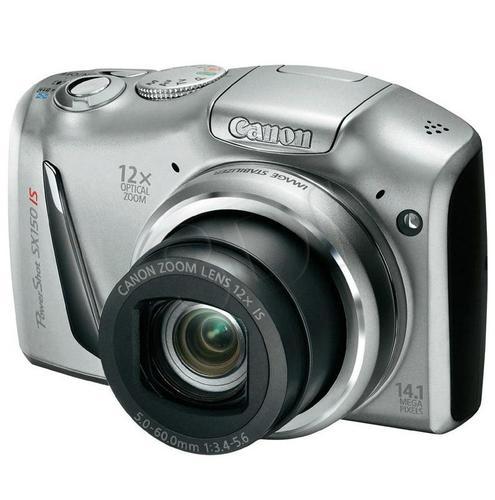 CANON PowerShot SX150 IS SREBRNY