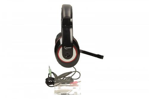 GEMBIRD Słuchawki z mikrofonem MHS-001 czarne