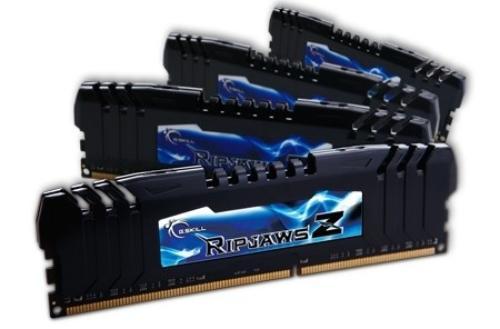 G.SKILL DDR3 32GB (4x8GB) RipjawsZ 2133MHz CL9 XMP