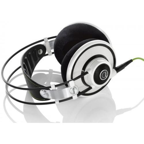 AKG Q701 Białe Słuchawki hifi otwarte