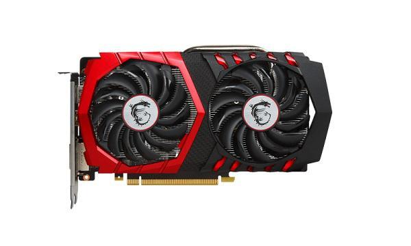 MSI GeForce GTX 1050 Ti GAMING X 4GB