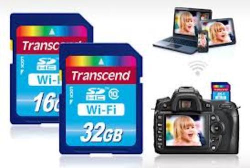 Transcend WiFi SD Card