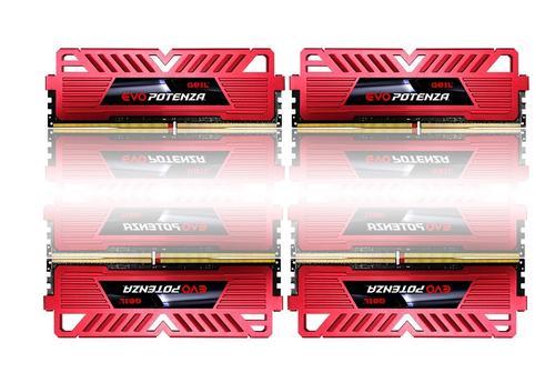 Geil DDR4 EVO Potenza 16GB/ 2666 (4*4GB) CL15-15-15-36