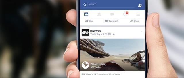 Facebook 360 wideo 360