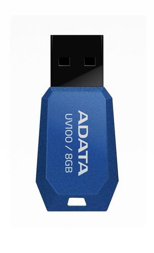 A-Data DashDrive UV100 8GB USB2.0 niebieski- mini