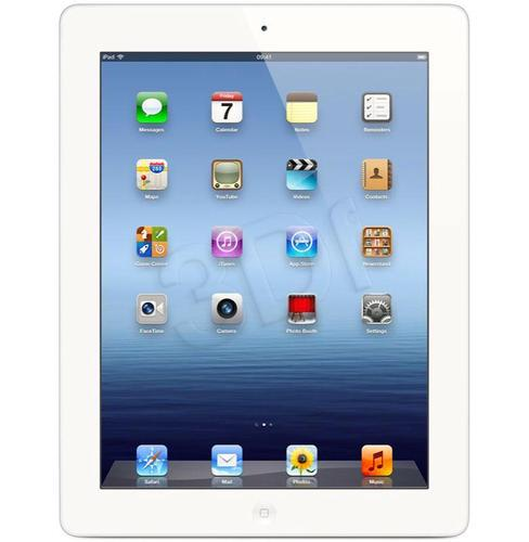 iPad 4 (with Retina display) 128GB WiFi+4G WHITE PL