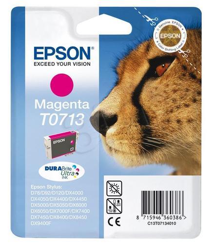 EPSON Tusz Czerwony T0713=C13T07134011, 8 ml