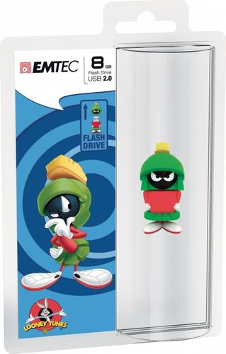 EMTEC Pendrive 8GB Marvin Looney Tunes LT107