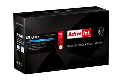 ActiveJet ATS-C406N toner Cyan do drukarki Samsung (zamiennik Samsung CLT-C406S) Supreme