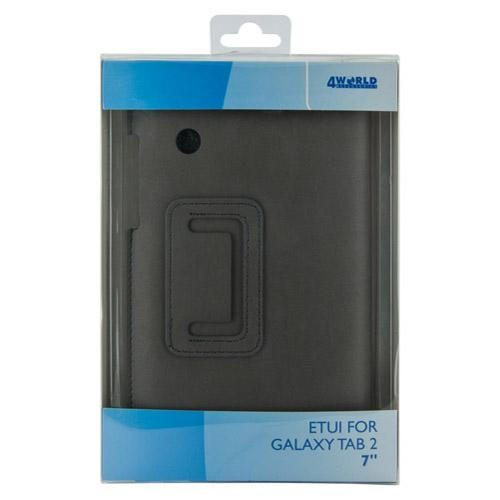 4World ETUI DO GALAXY TAB 2 7''ULTRA SLIM SZARE