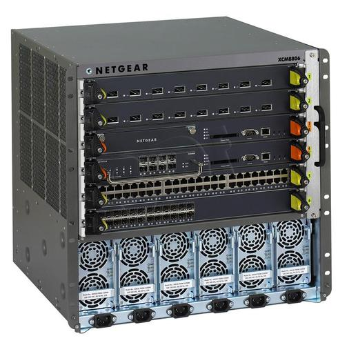 NETGEAR XCM8806 8800 Series 6-slot Chassis Switch