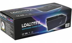 LC-Power ZASILACZ 350W LC400TFX TFX V2.3 80mm 2xPCIe 5x SATA
