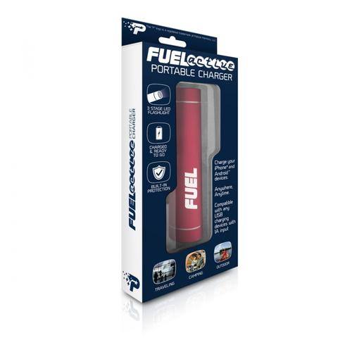 Patriot Bateria Fuel Active 2000mAh USB latarka 3 funkcje LED aluminium -red