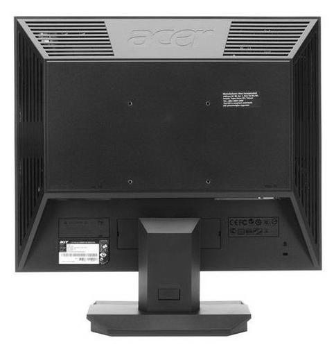 """Acer 19"""" Monitor V193DOb 48cm 4:3 5ms 50.000:1 czarny TCO5.2 (zabezpieczenie kodem PIN)"""