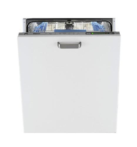 BEKO DDN 5832 EXTRA (60 cm, panel zintegrowany, pełne drzwi ze stali nierdzewnej)