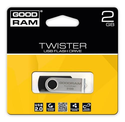 GoodRam Twister 2GB USB 2.0 Czarny