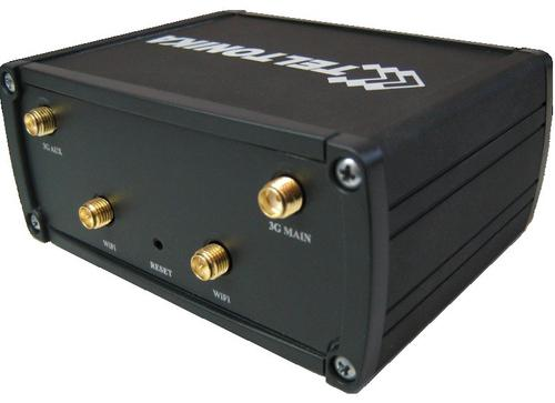 WEL.COM Teltonika RUT900 DualSIM, VPN Server, 21Mbps Downlink, 5.76Mbps Uplink, Sms reboot, 3x LAN, 1x WAN, WiFi 300Mb