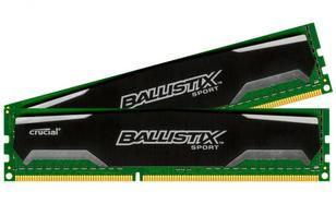 Crucial DDR3 Ballistix Sport 8GB/1600 (2*4GB) CL9-9-9-24