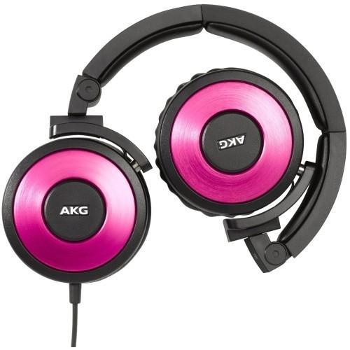 AKG K619 DJ Różowe Słuchawki DJ z mikrofonem