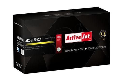 ActiveJet ATX-6180YXN żółty toner do drukarki laserowej Xerox (zamiennik 113R00725) Premium
