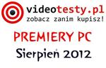 Premiery PC - Sierpień