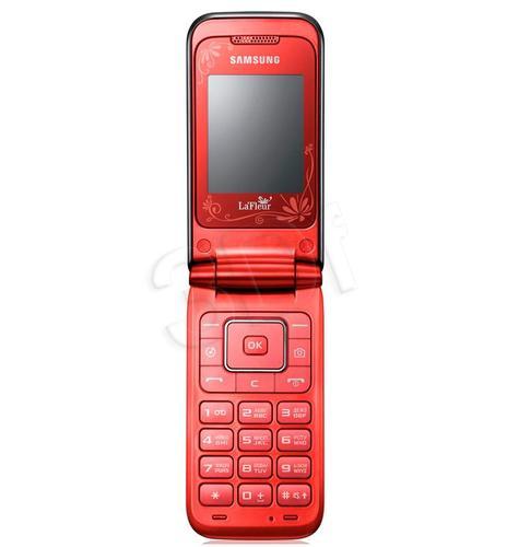 SAMSUNG E2530 RED LA FLEUR