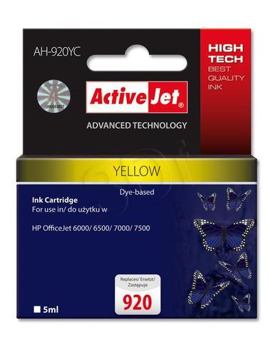 ActiveJet AH-920YC tusz żółty do drukarki HP (zamiennik HP 920 CH636A) Premium