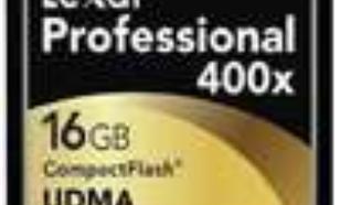 Lexar 400x 16 GB