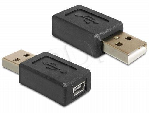 ADAPTER USB AM->USB MINI BF (USB 2.0)