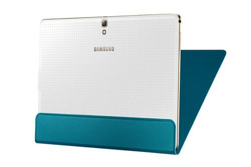 "Samsung Etui w formie ""book cover"" tylko na przód / Simple cover do GALAXY Tab S 10.5 AMOLED / Chagall (T800/T805) - niebieskie"
