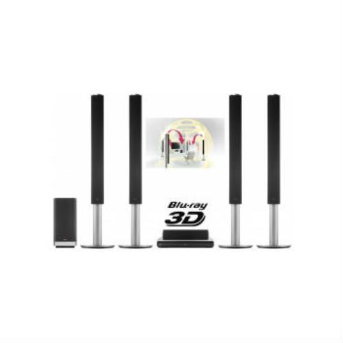 Kino domowe z Blu-Ray 3D LG BH9540TW (6 + 1)