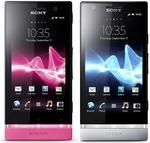 Sony Mobile Communications przedstawia smartfony Xperia P oraz Xperia U
