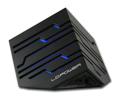 LC-Power GŁOŚNIK SP-2B CUBETRON BLUETOOTH BLACK LC-POWER GLOSNIK CUBETRON LC-SP-2B BLUETOOTH 3.0 MINIJACK 20H PRACY 200H CZOWANI