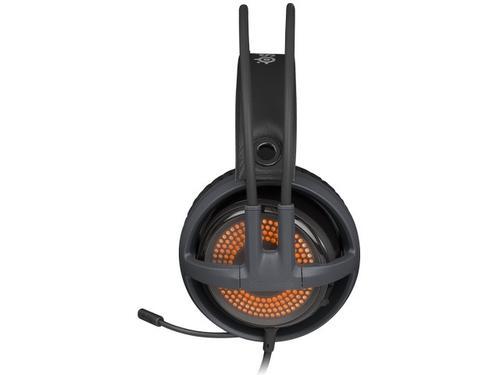SteelSeries Słuchawki z mikrofonem SIBERIA V3 PRISM GREY
