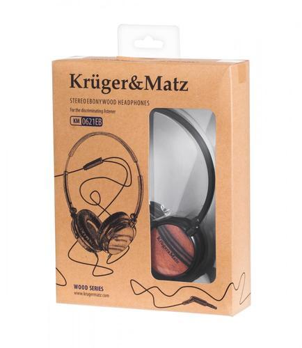 Kruger & Matz SŁUCHAWKI STEREO HEBAN KM0621EB