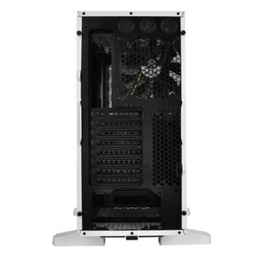 Thermaltake Armor Revo Snow Edition USB3.0 eSATA Window HDD Dock (140mm 3x200mm, LED), biała