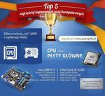 Top 5 najlepiej sprzedających się części komputerowych