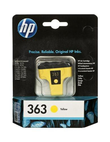 HP Tusz Żółty HP363Y=C8773EE, 490 str., 6 ml